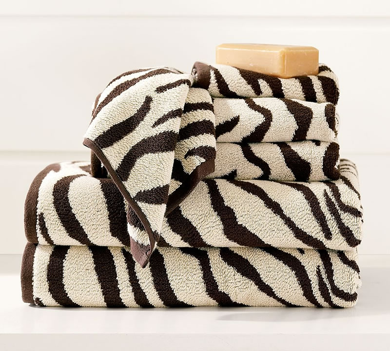 PB Zebra Towels