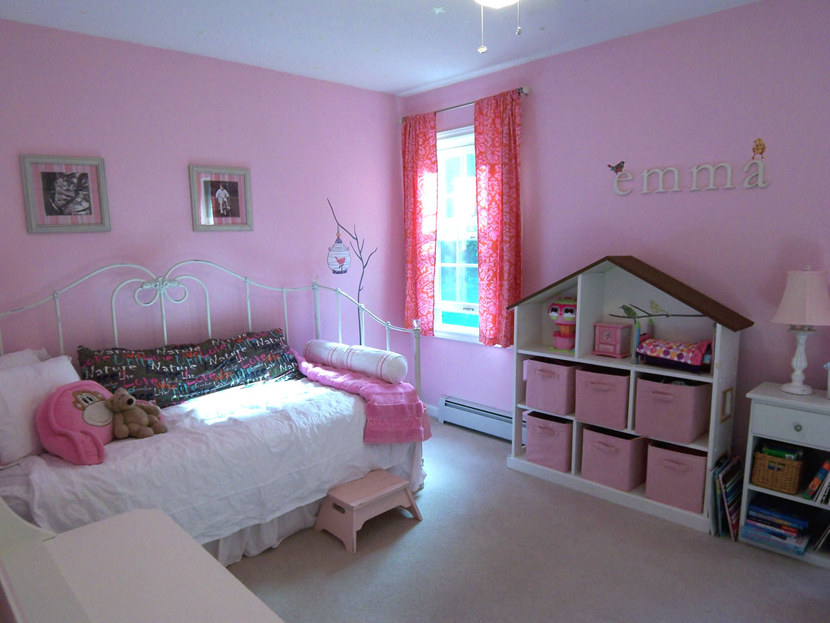 Painting Ideas For Kids Bedrooms A Non Princess Pink Room
