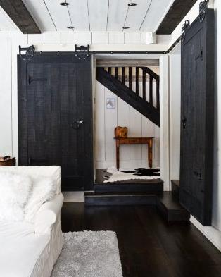 Delightful Sliding Barn Door House Beautiful