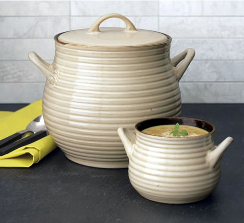Crate and Barrel Soup Pot
