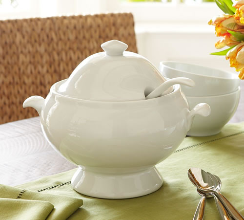 Pottery Barn Soup Tureen