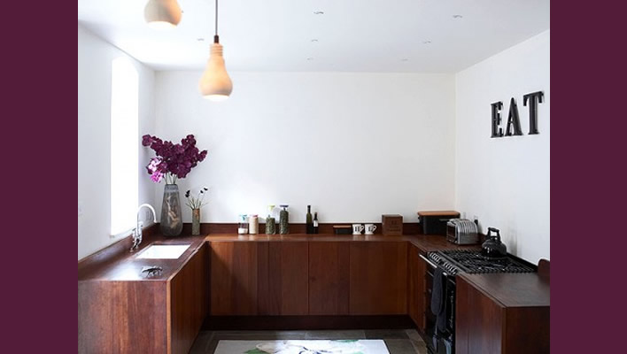 Ideas for that awkward space above your kitchen cabinets