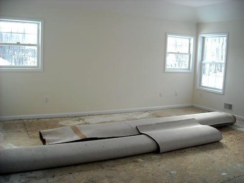 replacing carpet in master bedroom