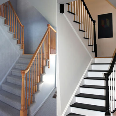 Painting Stairs DIY and Tips
