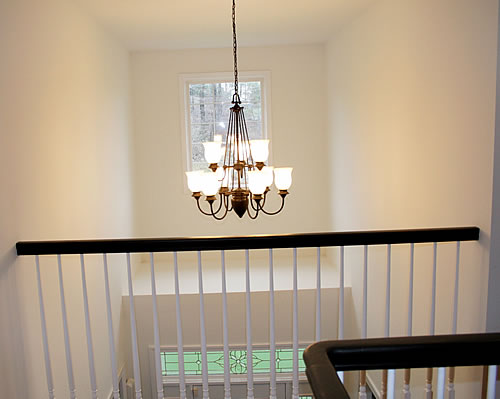 foyer light after