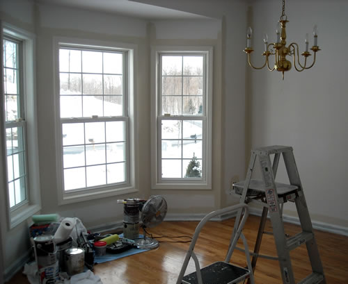 renovating dining room