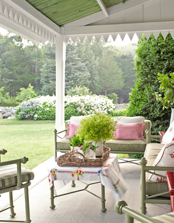 porch design from country living