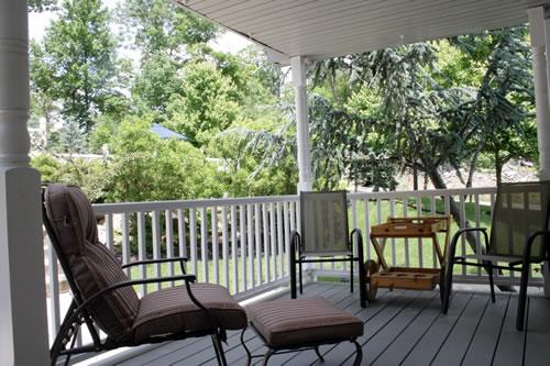 blah porch before