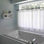 window treatment master bathroom