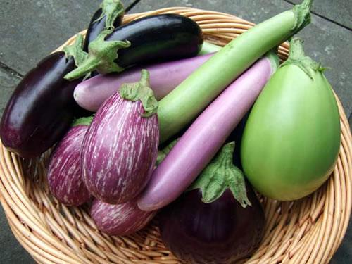 basket of vegetables tablescape