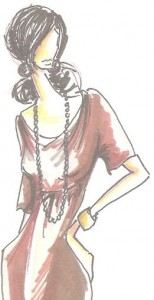 Shabby Apple dress sketch