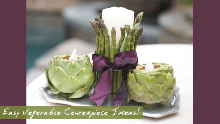 Easy Unique Vegetable Centerpiece Ideas