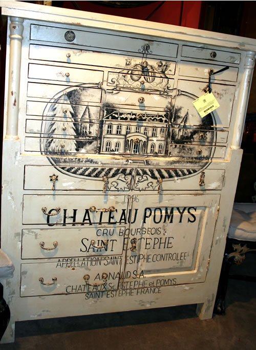 chateau painted dresser