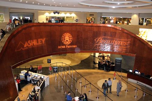 lobby of world market center