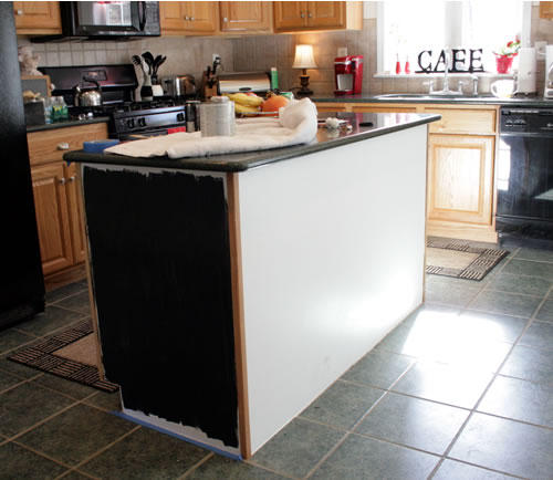 black kitchen islands how painting the island black changed my kitchen 10748