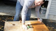 Upcycling a Pine Coffee Table