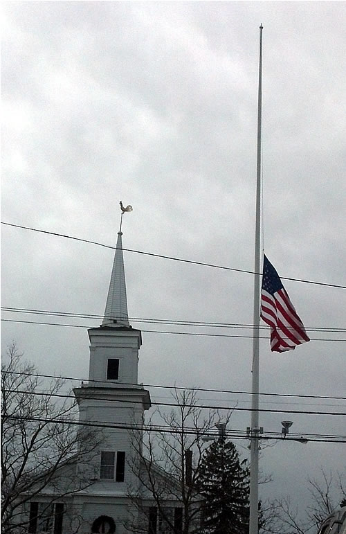 newtown flagpole