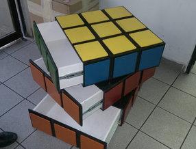 rubik cube dresser