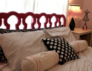 zebra glam room