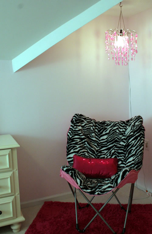 zebra diva reading corner