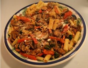 serve over pasta