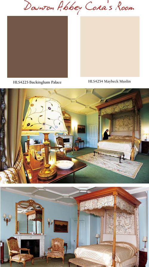 Downton Abbey Cora's Room