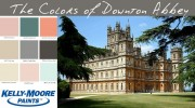 A Color Story Inspired by Downton Abbey