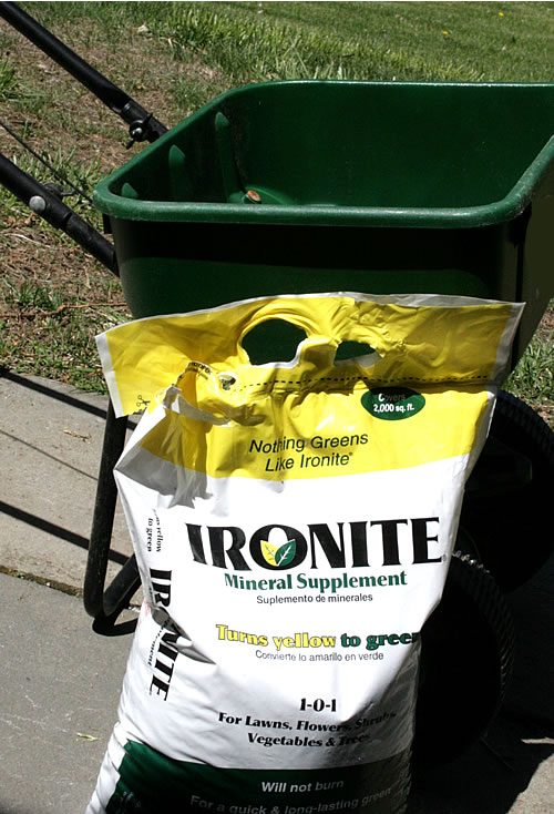 ironite for lawn