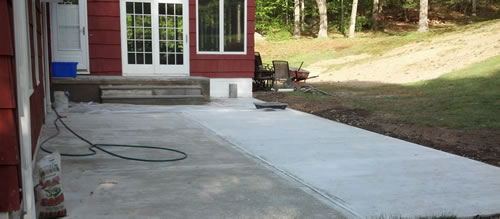 patio progress