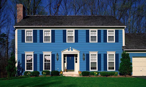 A Rainbow Of Paint Colors For Your Home S Exterior Your