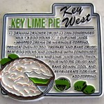 key lime pie recipe on magnet