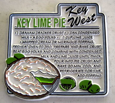Key Lime Pie Recipe Inspired from my Favorite Key West Fridge Magnet