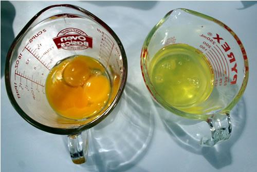 separate egg whites