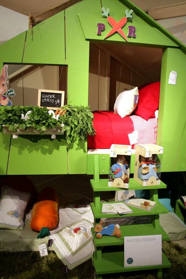 peter rabbit bunk bed for kids