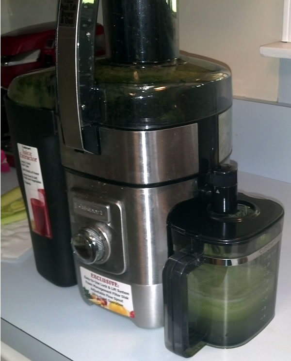 cuisinart juice extractor
