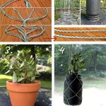 DIY mason jar craft - hanging macrame succulents