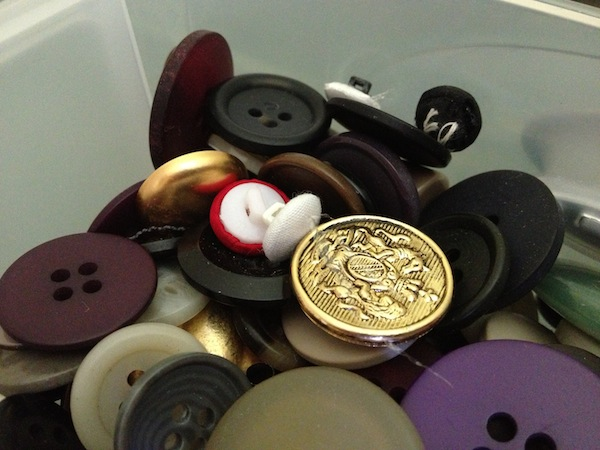 Buttons are full of potential when it comes to upcycling.