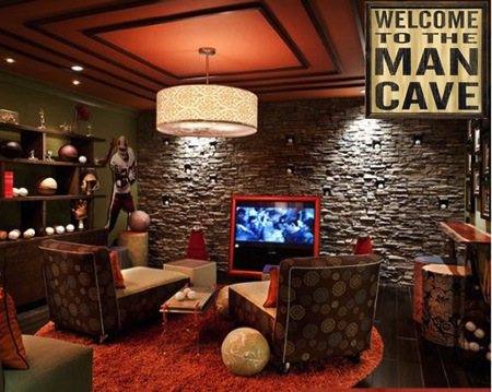 Creating A Custom Man Cave In 5 Steps Your Home Only