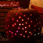 Disco Halloween Pumpkin