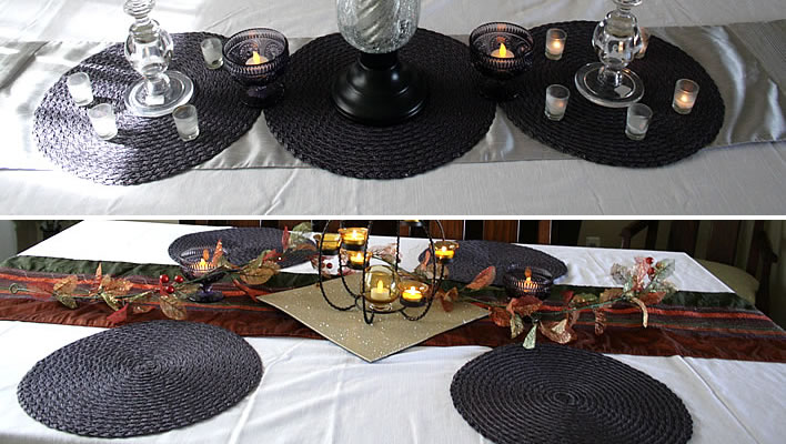Repurposed Holiday Tablescape Ideas