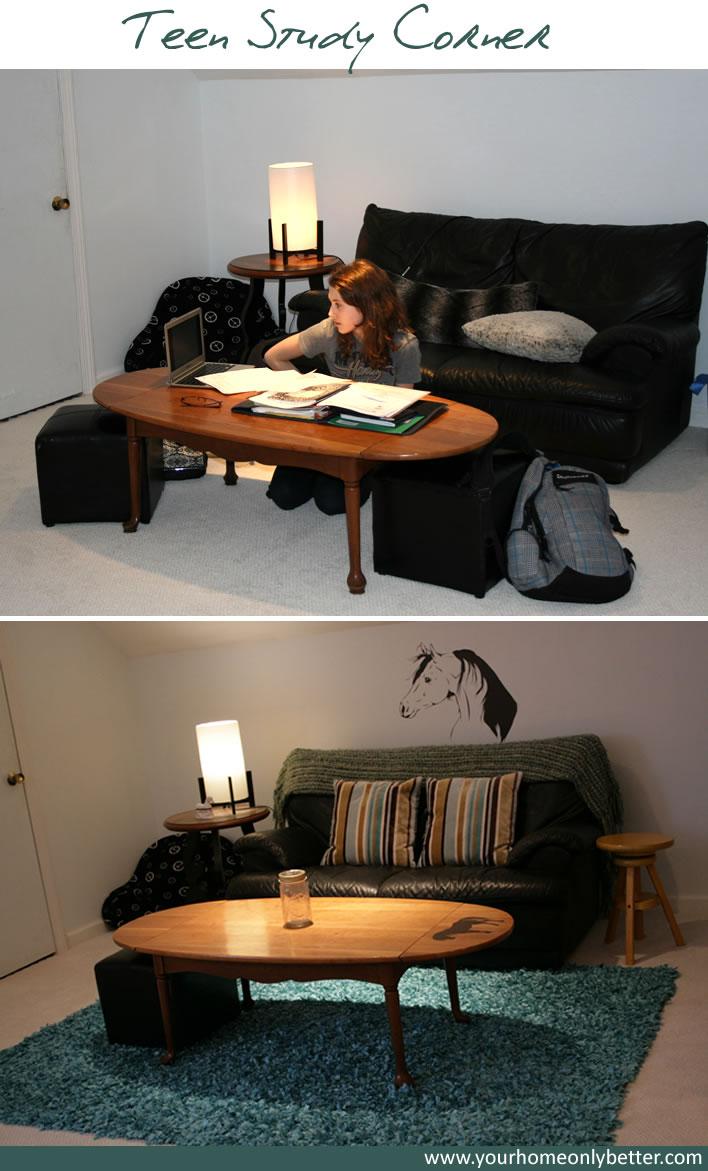 teen study corner