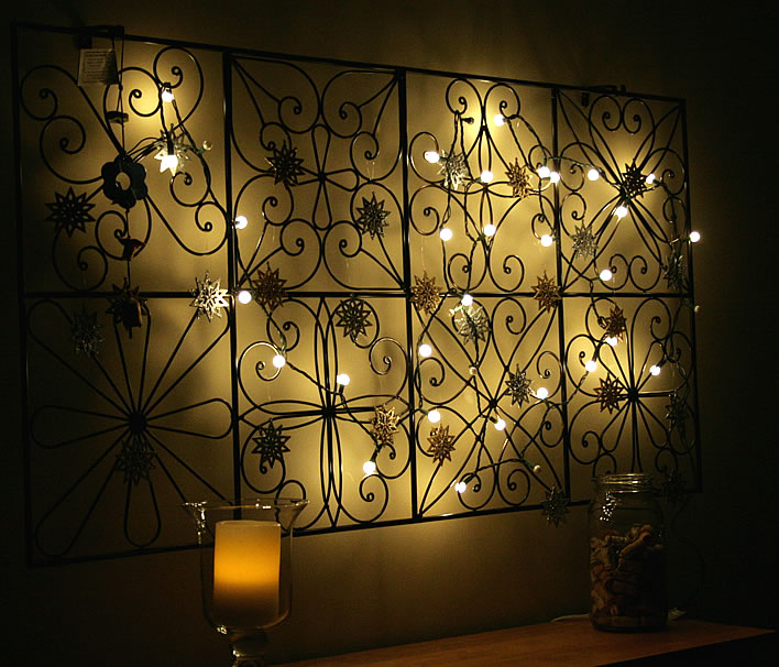 Diy Wall Decor Lights : Post holiday uses for string lights
