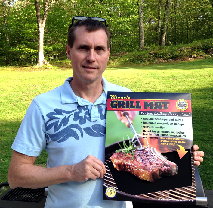 Leigh Smith Grill Mat