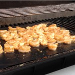 Grilling Shrimp on the Grill Mat
