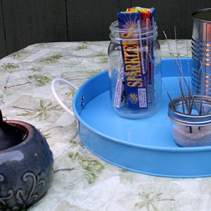 Fire Pit Party Tips: S'mores and Sparklers #YourHomeOnlyBetter