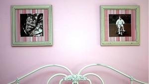 Framed paper as wall art @yourhomeonlybetter