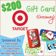 Target Christmas Gift Card Giveaway