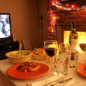 Italian Night In #datenight