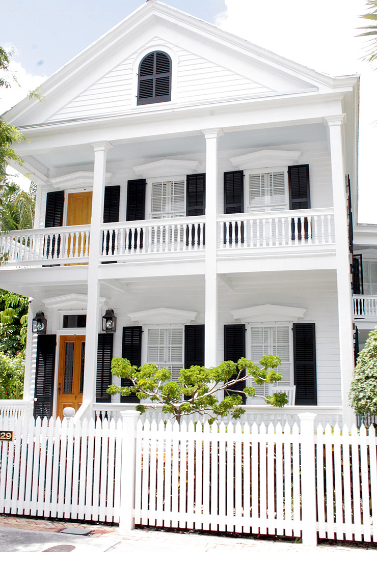 Key West Inspired Curb Appeal