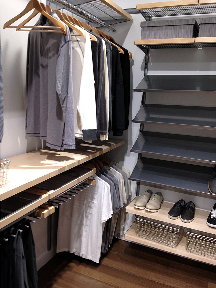 Closets that contain all your stuff